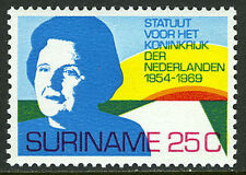 Surinam 368, MI 569, MNH. Queen Juliana and Rising Sun, 1969