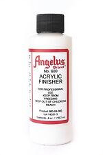 Angelus Brand Acrylic Leather Paint Finisher No. 600 4oz
