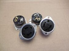 AHH Flange Female Receptacle 15A 15 A Amp 125 V Volt Lot of 4 Used