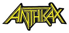 MartOnNet Music Patch ANTHRAX Band t Shirts Logo MA22 Embroidery iron on Patches