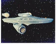 1966 STAR TREK Enterprise 8x10 color photo