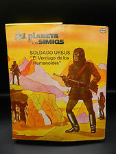 RARE vintage Cipsa Planet of the Apes GENERAL URSUS action figure Mego Mexico !!
