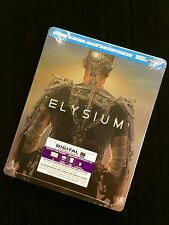 Elysium Steelbook ( Blu-ray/ DVD/ Ultraviolet) Brand New Sealed
