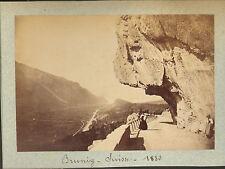 SUISSE PHOTO COL DE BRUNIG 1880