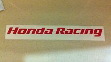 Honda Racing 150mm Bike Car Helmet Decals Stickers CBR Fireblade RR Civic  CR F1