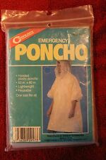 "COGHLAN'S EMERGENCY HOODED PONCHO - 50"" x 80"" - BSA - One Size Fits All"