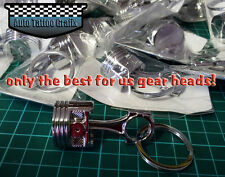 HUGE PISTON KEYRING KEY RING PERFECT GIFT FOR ANY GEAR HEAD COOL KEYRING