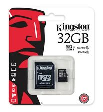 Kingston 32GB Micro SD HC 45MB/S  Memory Card For Sony HDRAS50B Action Camera