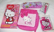 Hello Kitty Valentines Day Cards and Pencils,Purse,Tin Case,Pen,Charms