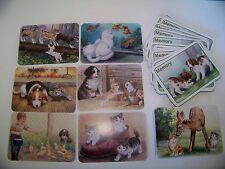 Memory Card Game for Children Animals in Color 50 Cards Educational (Box defect)
