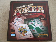 Head to Head Poker Board Game - Parker Brothers 2005 - VGC - partly sealed