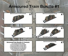 Railway WW2 Armoured Train Bundle 1 28mm R035