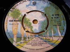 "RAB NOAKES - CLEAR DAY   7"" VINYL"