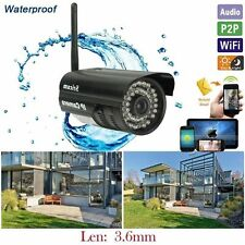 WiFi Outdoor Waterproof Wireless IR NightVision CCTV Security Network IP CAM CA9