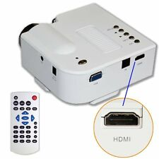 NEW Home Theater HDMI Input For Samsung Galaxy S4 Mini Portable HD LED Projector