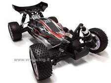 SPIRIT EBL BUGGY BRUSHLESS 1/10 OFF-ROAD BATTERIA LIPO 4WD RTR 2.4GHZ VRX