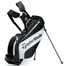 "New Taylormade Stand 3.0 Bag  2015 "" Black & White """