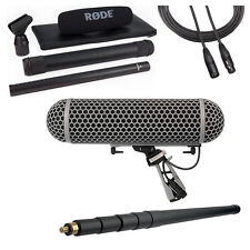Rode NTG3B Microphone with Rode Blimp, K-Tek 110CC Boompole & 20' XLR Cable