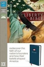NIV, The Liberty Bible, Imitation Leather, Blue, Lay  Flat: Rediscover the Faith