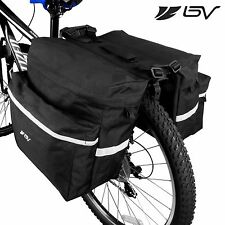 BV Bike Rear Seat Panniers Bicycle Trunk Double Side Saddle Bag NEW BV-BA104P