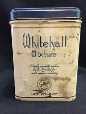 Old 1950s Whitehall Mixture Tobacco Tin 7oz Size made by Kentucky Club