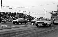 "1960s Drag Racing-""GANGREEN""-'66 Chevelle vs 1964 Chevy-BEE LINE DRAGWAY"
