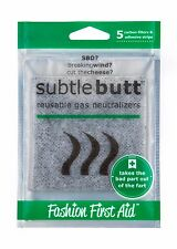 Subtle Butt: Reusable Fart Pads, Smelly Farts, Flatulence Filtering Underwear