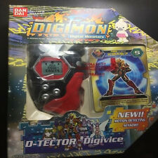 Rare 2002 Digimon Digivice D Tector Scanner System Version 1 Takuya Red & Black