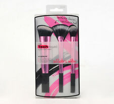 HOT Real Techniques Samantha Collector's Edition Sculpting Set 3 Brushes Kit .