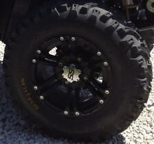 Set (2) 26-9-12 & (2) 26-11-12 Kenda Bearclaw ATV UTV Mud Tires & ITP SS HD Rims