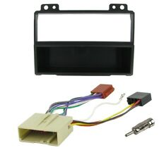 Ford Fiesta Mk6 2002-2005 Completa Radio single DIN Instalación Facia Kit de cableado y