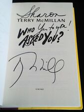 ~Signed First Edition/1st Printing~ Who Asked You? Terry McMillan HCDJ
