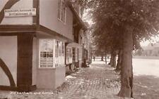 Lenham  Limes Nr Charing Ashford unused RP old pc Sweetman
