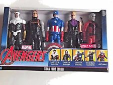 Marvel Avengers Titan Hero Series Captain America 5 Pack Action Figures Toy