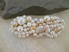 Hairclip barrette in your choice of  pearls & gems - a gift for your bridesmaids