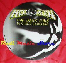 ADESIVO STICKER HELLOWEEN The  dark ride 9X9 CM cd dvd lp mc vhs promo live