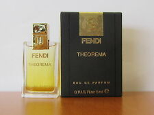 Theorema By Fendi Perfume Women 0.1us.fl.oz Eau De Parfum Splash MINI NIB