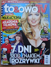 KATE UPTON on front cover TO & OWO TV Magazine 28/2015 in. Jake Gyllenhaal