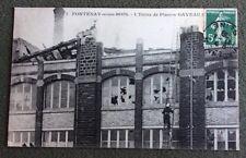CPA. FONTENAY SOUS BOIS. 94 - L'Usine de Piano GAVEAU. 1908. Carreaux cassés.