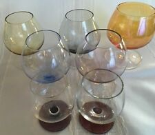 Vint Cognac Bandy Lovers Special Glasses Snifters Lot of 7 Pieces*
