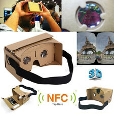 DIY 3D VR Virtual Reality Cardboard Glasses for Google Android iPhone Samsung UK