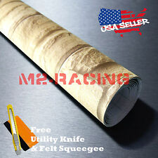 """*12""""x48"""" Beige Brick Stone Textured Vinyl Background Wall Sticker Wallpaper DY04"""