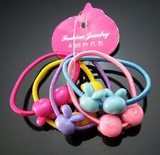 FREE 20PC Elastic Girl Hair Ties Bands Headband Rabbit Scrunchie Ponytail Holder