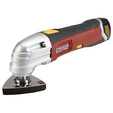 NEW Chicago Electric 12V Cordless Variable Speed Oscillating Multifunction Tool