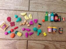 Large Barbie Food Kitchen Accessories Grocery Store