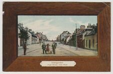 Ross & Cromarty postcard - Invergordon, High Street from West - P/U 1912