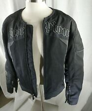 SCORPION Exo Skeletal Protection Black Motorcycle Riding Jacket SZ XL