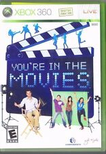 XBOX 360 Game...Your'e In The Movies. NO CAMERA - Free USA Shipping!