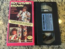 ROY CHUBBY BROWN FROM INSIDE THE HELMET RARE U.S VHS! NOT ON DVD STAND-UP COMEDY