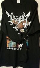 MORBID-SHIRT DECEMBER MOON DEAD MARDUK  SATYRICON DAWN OF THE BLACK HEARTS